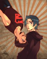 upside down timkon by XMenouX