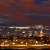 Clouds over Warsaw by zeenon