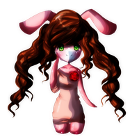 Ucera the rabbit by despicablee