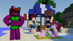 Minecraft GIRL POWER 4 4D: Summer Fun! by playingames6