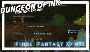 Final Fantasy XIV #17 DUNGEON OF INK by Vendus
