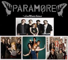 Paramore Collage by LoveMusicAnimes