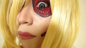 - Female Titan - Makeup 2 by KisaMake