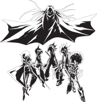 Shaman King Flowers Vector by Graphicsmith
