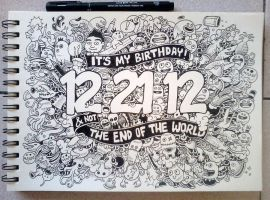 Birthday Apocalypse by kerbyrosanes