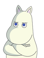 Moomintroll is not amused by kol98