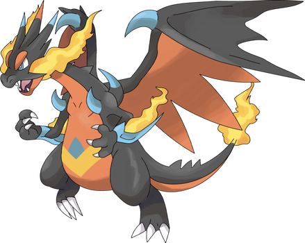 Mega Charizard Z by NeoZ7