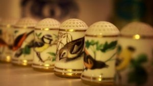 Small Bird Thimbles by Danimatie