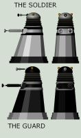 My daleks by Superman999