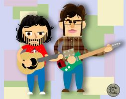 Flight of the Conchords by brodiehbrockie