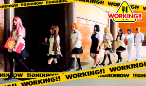 COOLISH WALK [Working!! Cosplay Group] by AmaRobot