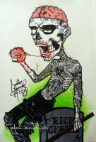 Rico the Zombie by GeeFreak