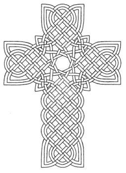 Celtic Cross Design 1 by baalthezzar
