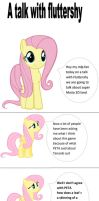 A Talk With Fluttershy by batman0889