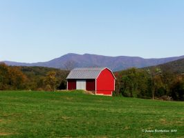 Little Red Barn by jim88bro