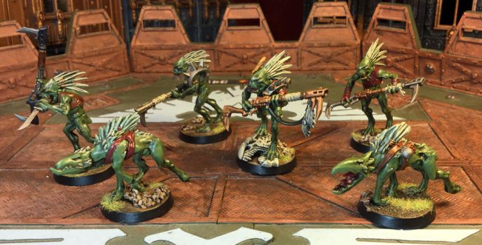 Kroot Kindred 01, Nemesis Contingent by NyQuilDreamer