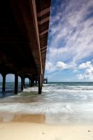 Under The Pier by DavidCraigEllis