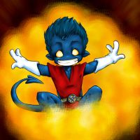 little Nightcrawler by ademh