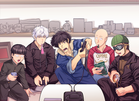Illustration - Tokyo encount-oei! by MelisaOngMiQin