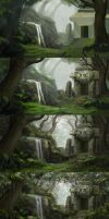 Sanctuary - stages by NM-art