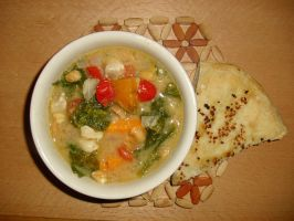 West African Chicken Soup by Sumbdumbkid