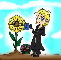 KH Demyx - Earth Day by CherryBlossoms24