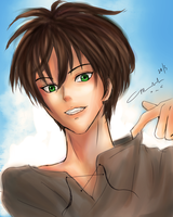 Chillin with the Eren by marikit