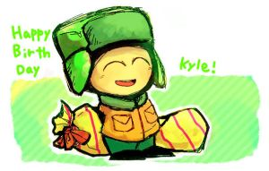 SP: kyle Birthday by hoshikagami