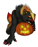 InfernalEmbyr's Pumpkin Attack!! by Crimsonpelt