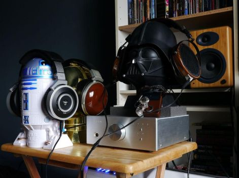 My Headphone Stands by 24bitaudio