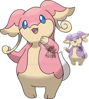 531 - Audino by Tails19950