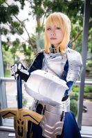 Saber Gift version // 01 by Vega-Highwell