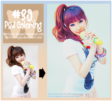 39 Park bom Coloring PSD by OumBoJae