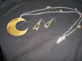 Luna Cosplay Jewelry by Anime-Bling