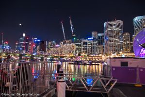 Vivid Sydney - Darling Harbour by tawunap159