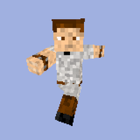 my character in Minecraft by soyersoldier