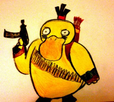 Duckness The Bastard by Frying-Pan-Warrior