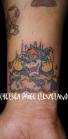 Bowser - Forearm - by Chelsea by SmilinPirateTattoo