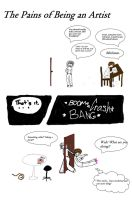 087:The Pains of Being an Artist by cece61998