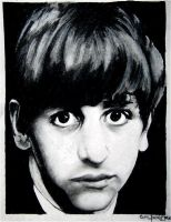 ringo starr by flamingpie