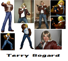 Wild Wolf Terry Bogard Cosplay Collage by IronCobraAM