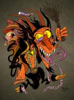 Krampus by Themrock