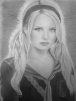 My Sketch Of Emily Browning Aka BabyDoll by DICapriofan