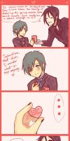 His Butler - Valentine's Day by oOo-KupoCoffee-oOo