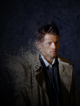 Castiel Splatter by The-Light-Source