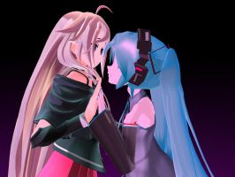 IA x Miku - Magnet by vocaloidifytheworld