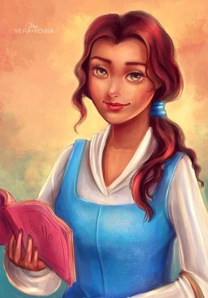 Belle (Beauty and the Beast) by VeraVoina