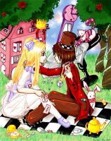 Alice lose at hasard games by Elly-Jyana