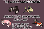 TINY CHEEB COMMISSIONS by Figgetywinks