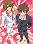 Your hosts, Kyon and Itsuki by daughter-of-Myou
